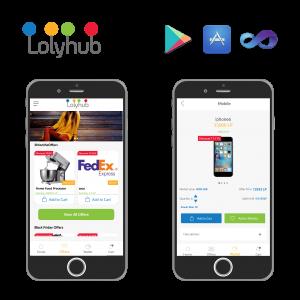 Loly-Hub , mobile application, web application