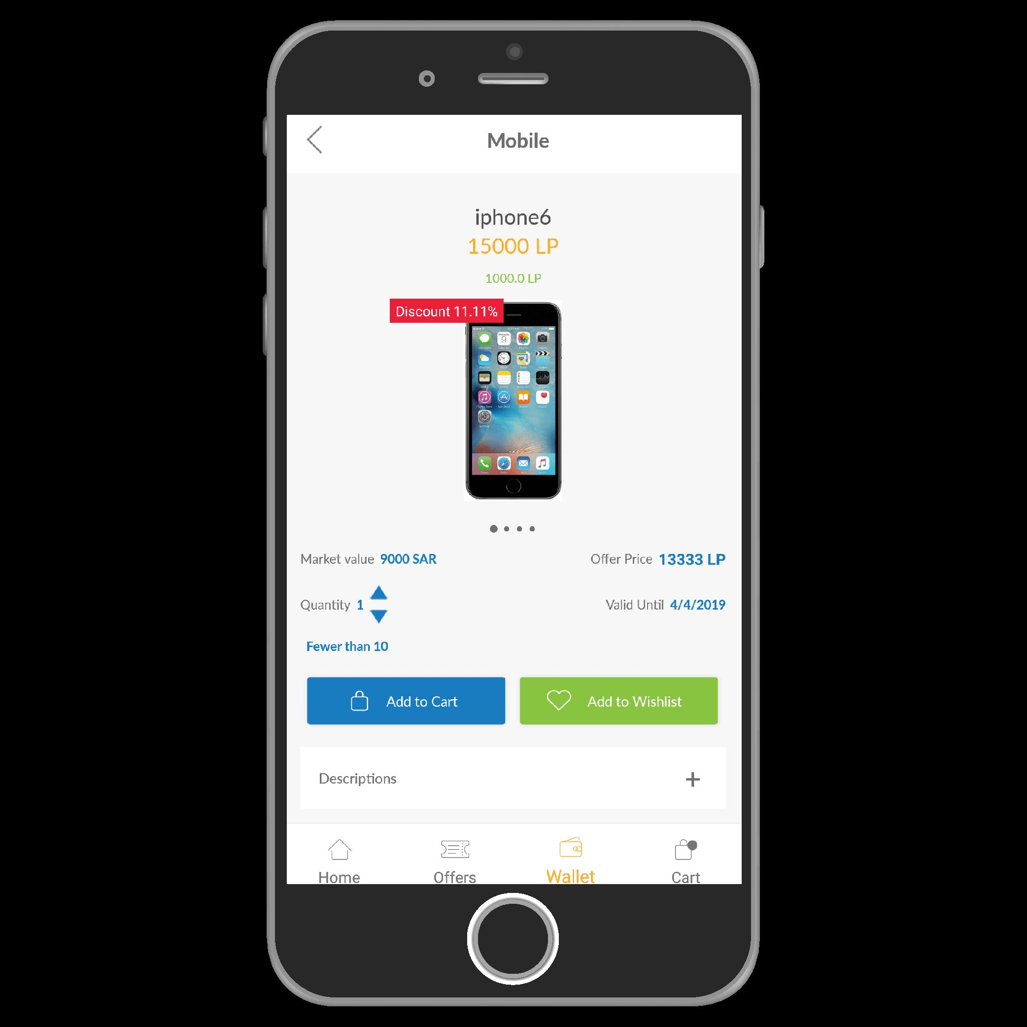 Lolyhub, mobile application, web application