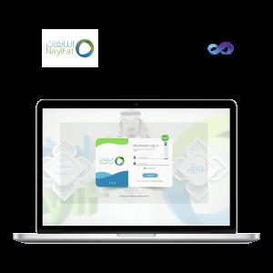 Nayifat, mobile application, web application